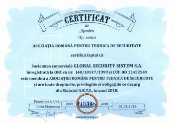 certificat-membru-ARTS